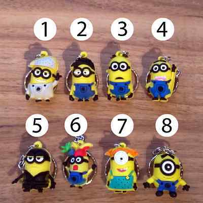despicable me minion keyring minion key ring/keychain/key chain FREE DELIVERY UK