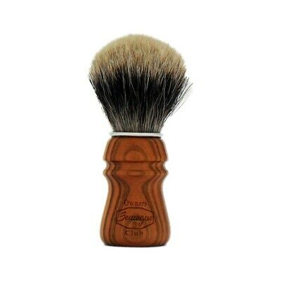 Semogue Owners Club Shaving Brush Two Band Badger Cherry Wood Handle Version SOC