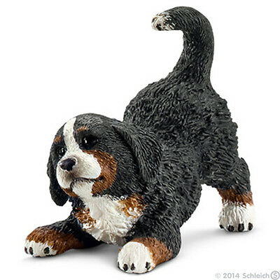 *NEW* SCHLEICH 16398 Bernese Mountain Dog Puppy Playing - Canine