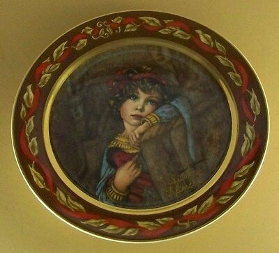 """Let's Pretend"" Series CLEOPATRA Plate Irene Spencer Pickard China Lovely!"