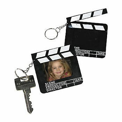 DIRECTOR'S CLAPBOARD PHOTO FRAME KEY CHAINS (LOT OF 12)