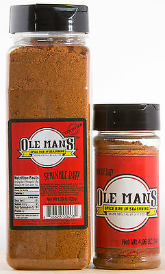 Ole Man's Spice & Seasoning Combo Special! No MSG