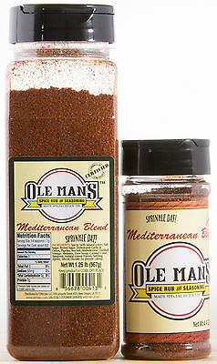 Award Winning Ole Man's  Spice Bundle Mediterranean  Combo Pack-Free Shipping