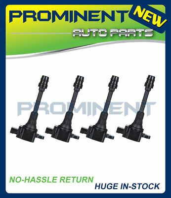 NEW SET OF 4 NEW IGNITION COIL FOR Nissan Sentra 1.8L L4 UF351 C1397 22448-6N011