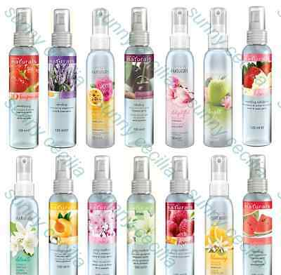 ✦ 2 x Avon Naturals Fragrance Spritz ✦ Room, Linen & Body Spray, Freshener 100ml