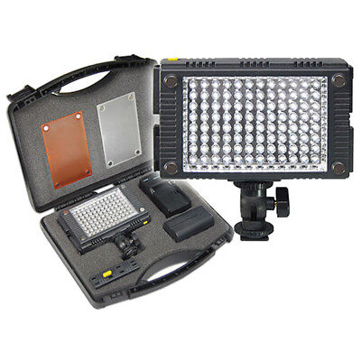 Vidpro Photo Video LED Light with Diffusers & Case NEW