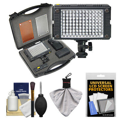 Vidpro Photo Video LED Light Kit with Diffusers & Case