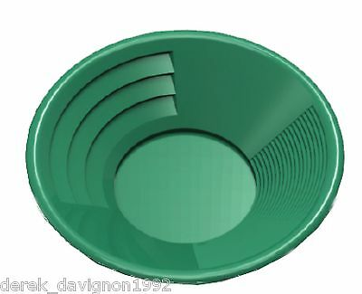 "SE 12"" PANNING GOLD PAN - GREEN"