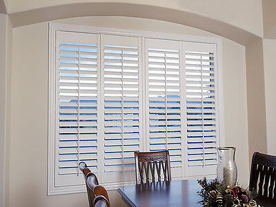 Custom made timber wood plantation shutter PVC shutter from factory supply only