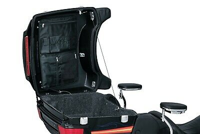 Kuryakyn 4134 Lid Organizer Bag for Harley King Ultra Chopped Tour-Pak (ea)