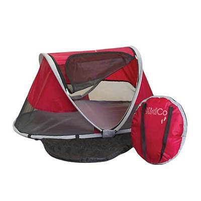 PeaPod Travel Bed in Cranberry by Kidco