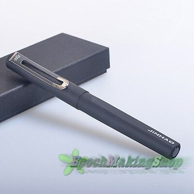 free shipping jinhao 599 balck Frosted roller ball pen new