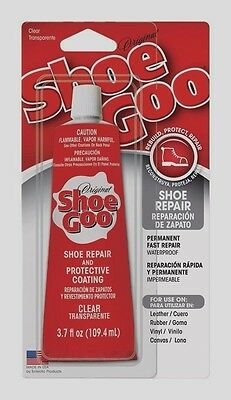 SHOE GOO Shoe Skate Repair Glue 3.7oz CLEAR Adhesive Protective Coating Craft!!!