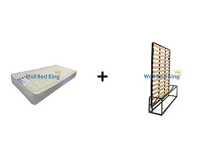 King Size Wall bed- WITH MEMORY FOAM MATTRESS (Wallbed Murphy bed Pull-out bed)