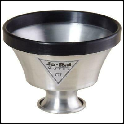 Jo-Ral TPT-6 Aluminum Trumpet Plunger Mute  Made in USA