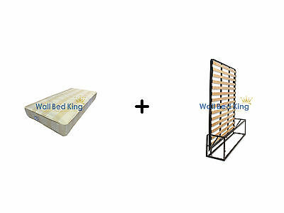 Double Wallbed -WITH ORTHOPAEDIC MATTRESS (Wallbed Murphy bed Pull-out bed)