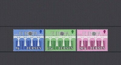 Jersey, Europa Cept 1984, 25 Years Of Cept, Mnh