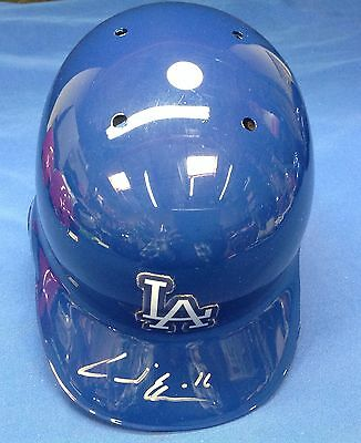 Andre Ethier signed Rawlings Authentic Full Size Helmet PSADNA Cert #4A38961