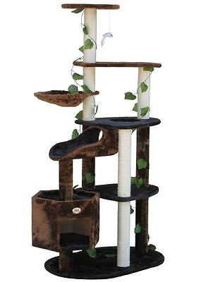 Cat Tree Toy Bed House Scratcher Post Furniture F2092