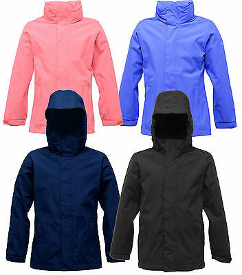 Regatta Greenhill Kids Waterproof Jacket Boys Girls School Coat RKW114E