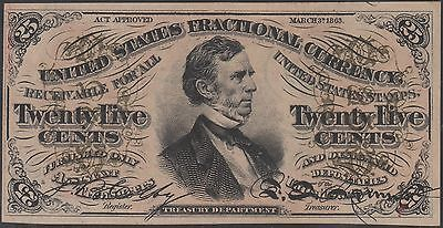 Fr1292 25¢ 3Rd Issue Gem Unc Fractional Currency Wl6048