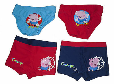 Baby Boys Swim Trunks Swim Pants George Pig