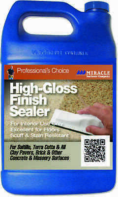 Miracle Sealants High Gloss Finish Sealer 3.785L - Colour Enhancement for Stone