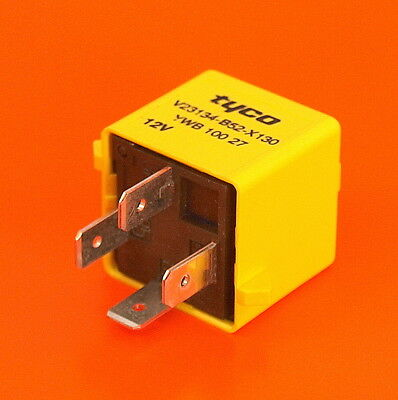 Automotive Relay 12V 40 Amp With Resistor 4 Pin Normally Open - YWB 100 27