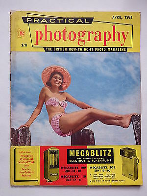 Practical Photography Magazine April 1963, Glamour/Close Up pics R&L
