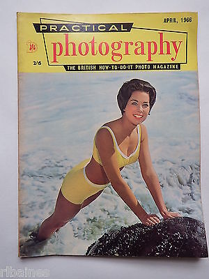 Practical Photography Magazine April 1966, Shutter-Aperture Control... R&L