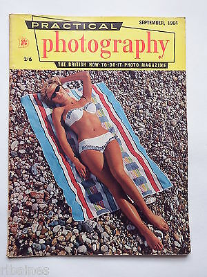 Practical Photography Magazine September 1964, Candid Portraits/Models  R&L