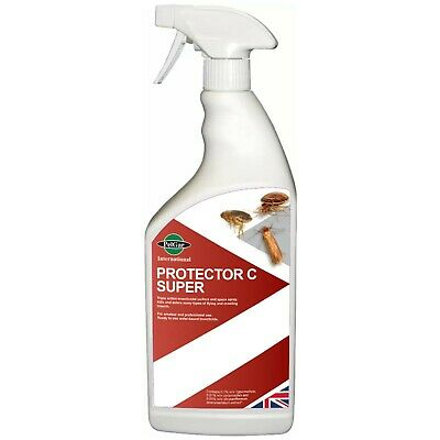 PROTECTOR C 500ml INSECT BED BUG BEDBUGS SPRAY TREATMENT KILLER CONTROL KILL