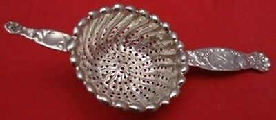Heraldic by Whiting Sterling Silver Tea Strainer 6""