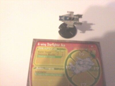 Star Wars Mini's A-Wing Starfighter Ace #15 of 60