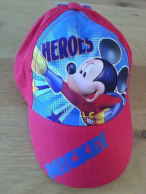 Casquette DISNEY Mickey taille 54 rouge