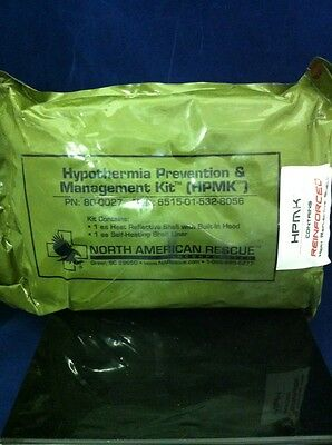 NEW NARP HYPOTHERMIA PREVENTION & MANAGEMENT KIT HPMK 80-0027 Military 10/14+