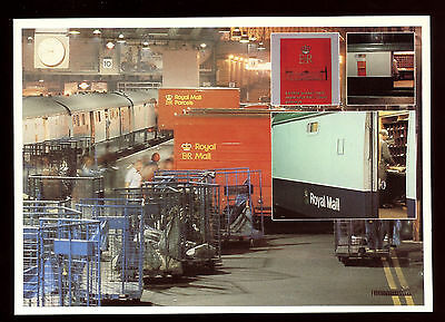 GB Post Office Royal Mail Postcard - Travelling Post Office Unused #C11103