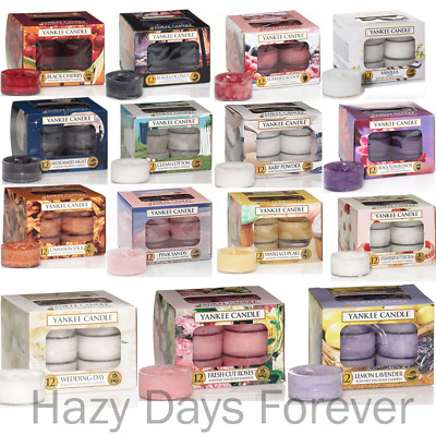 YANKEE CANDLE tea lights BUY ANY 2+ SAVE 10% GOOSE CREEK Scented candles
