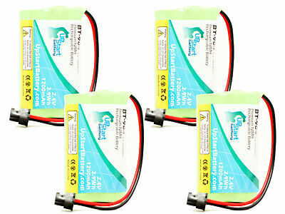 4x Replacement Battery for Uniden DECT1480-3, BT1007, EXP970, New