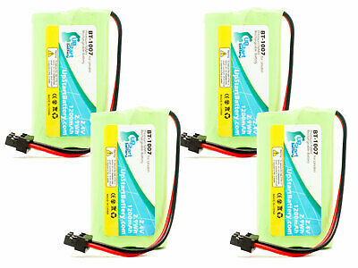 4x Replacement Battery for Uniden DECT1580, DECT1560-2, DECT1588-5, New