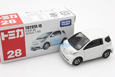 NEW Takara Tomica Tomy #28 Toyota iQ Mini Scale 1/60 Diecast Toy Car Japan