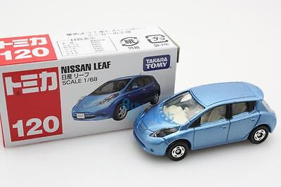 NEW Takara Tomica Tomy #120 NISSAN LEAF Blue Scale 1/68 Diecast Toy Car Japan