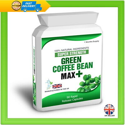 Green Coffee Bean Diet Extract 90 Capsules Plus Free Weight Loss Dieting Tips