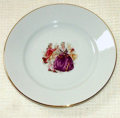 NEW Limoges Reunies MARQUISE DE POMPADOUR - SIDE Tea PLATE