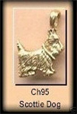 Scottie Westie Dog Charms Charms Terrier Ch95