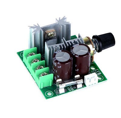 12V-40V 10A Pulse Width Modulator PWM DC Motor Speed Control Switch 13KHz US