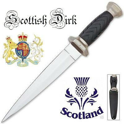 Celtic Scottish Dirk SGIAN DUBH DAGGER Knife NEW Scotland Kilt BKHK5658