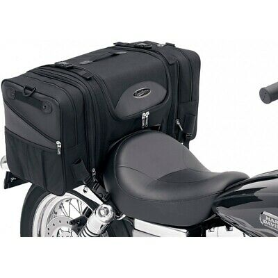 Saddlemen TS3200DE Deluxe Cruiser Tail Bag Saddlestow for Harley Metric