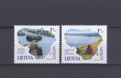 Lithuania, Europa Cept 2001, Water Theme, Mnh