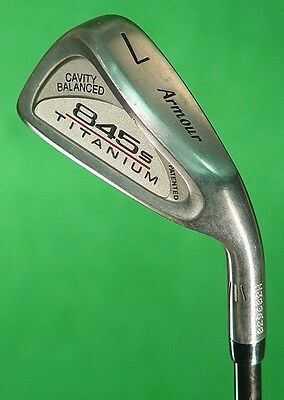 Lady Tommy Armour 845s Titanium Single 7 Iron Scoriae Graphite Women's